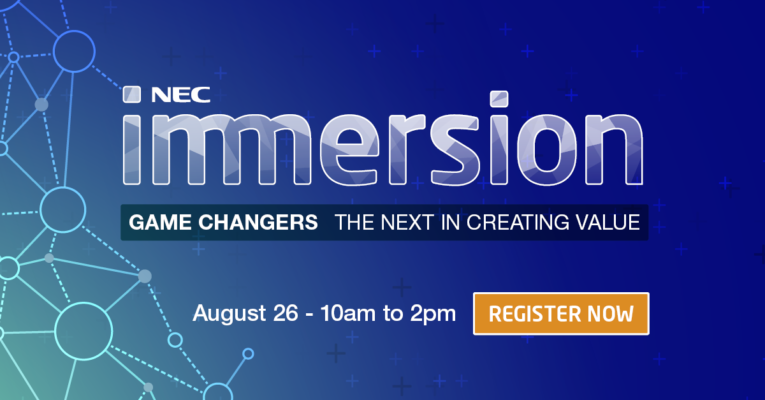 Change the Game and reimagine the possibilities at IMMERSION, live streamed from the SCG