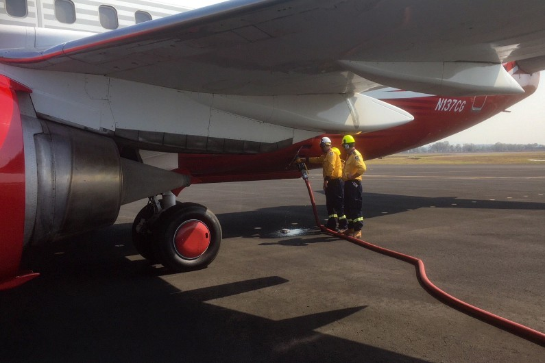 Queensland premier Annastacia Palaszczuk said the LAT was an important asset for the state to fight bushfires.
