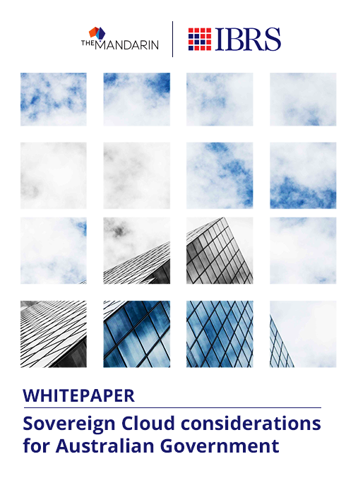 Whitepaper: Sovereign Cloud considerations for Australian Government image