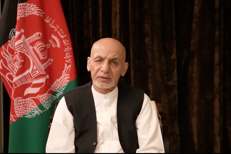 Anti-Taliban protestors killed on the streets as deposed president of Afghanistan speaks out
