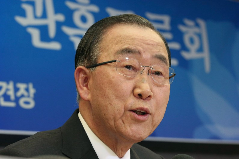 Ban Ki-moon warns Australia its failure to set an adequate emissions-reduction target could threaten the country's prosperity and reputation.