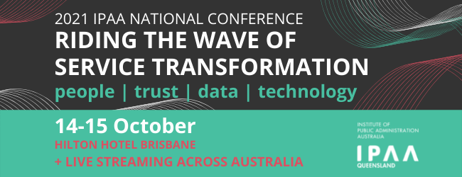 2021 IPAA NATIONAL CONFERENCE: Riding the wave of service transformation image