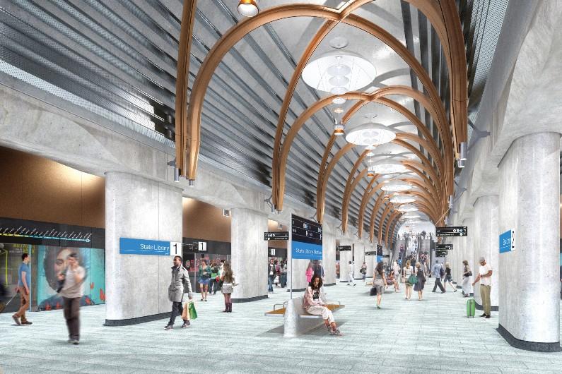 Victoria amends design for proposed Arden Station precinct