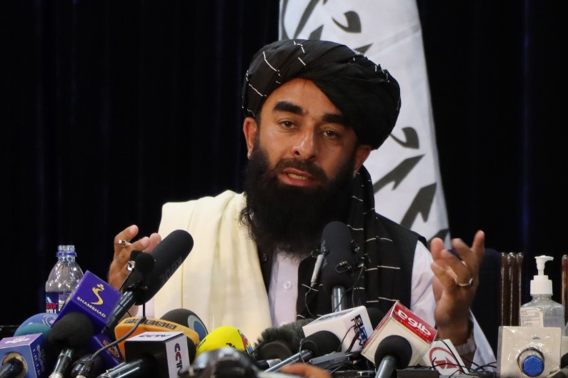 Taliban spokesman fronts media, China underscores desire for 'friendly relations'