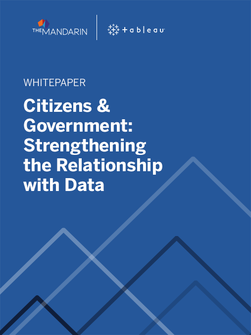 Whitepaper: Citizens & Government – Strengthening the relationship with data image
