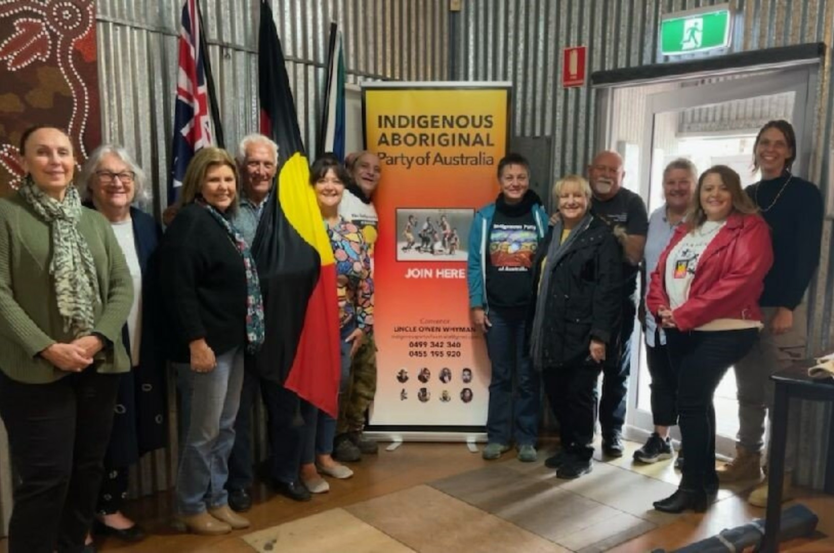 Indigenous political party facing registration hurdles