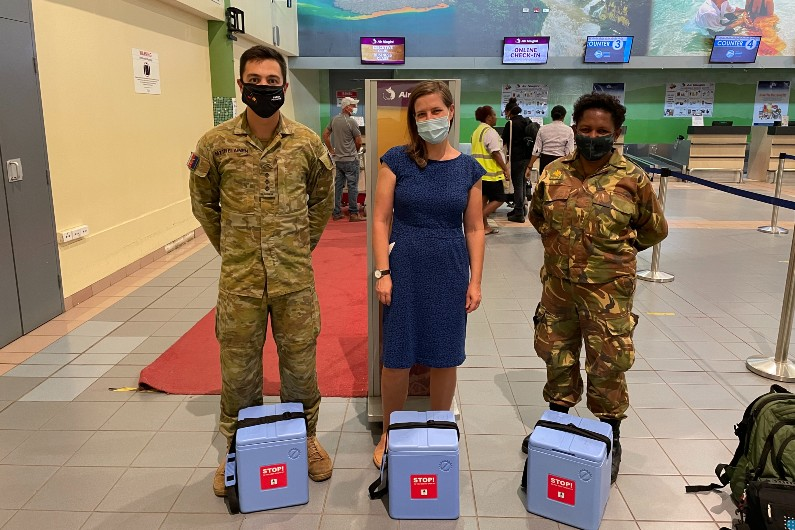 ADF deploys new team to assist PNG COVID response