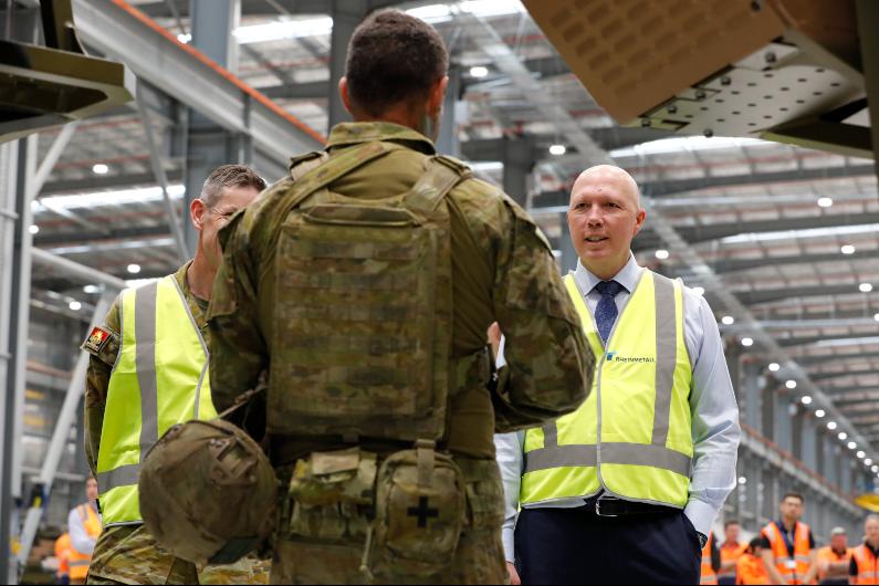 Dutton's Defence doctrine should come as no surprise