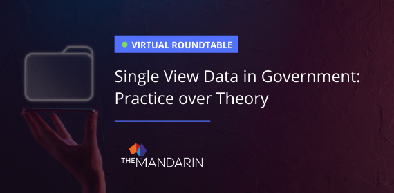 Single View Data in Government: Practice over Theory image