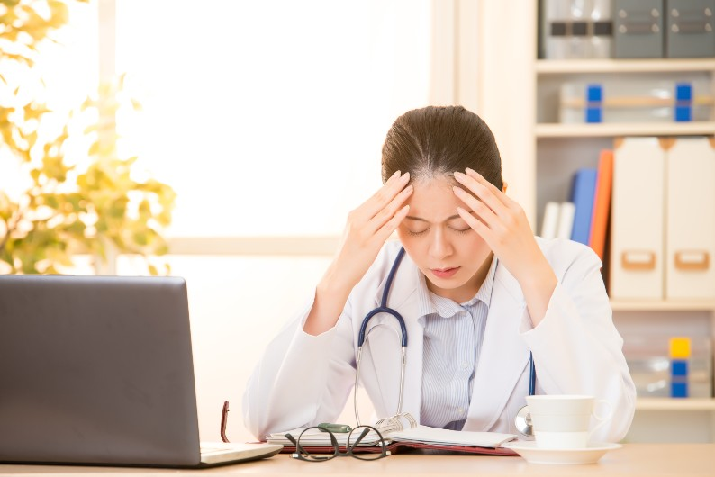 Doctors are at increased risk of suicide, and female doctors particularly.