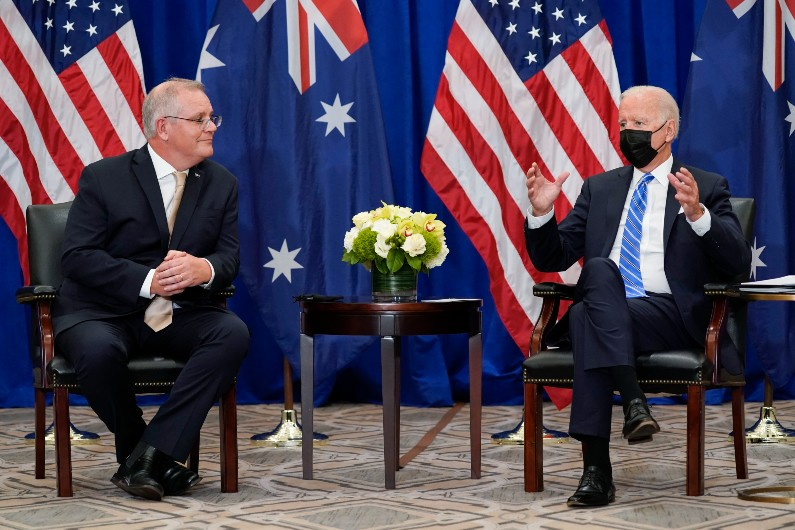 World order that favours freedom on agenda of Australia-US talks