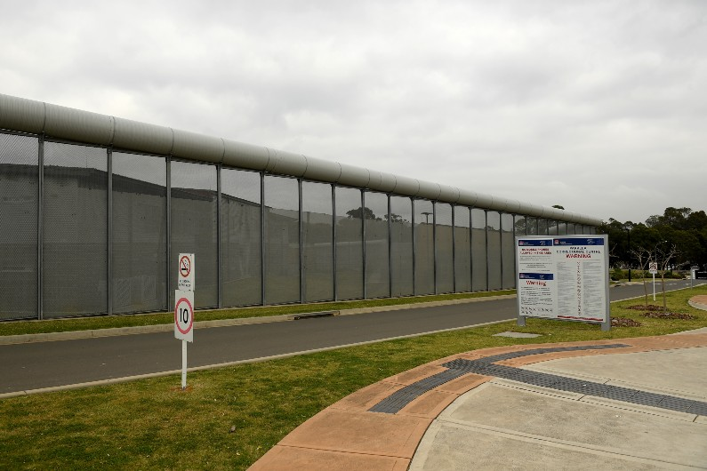 Parklea Correctional Centre in Sydney.