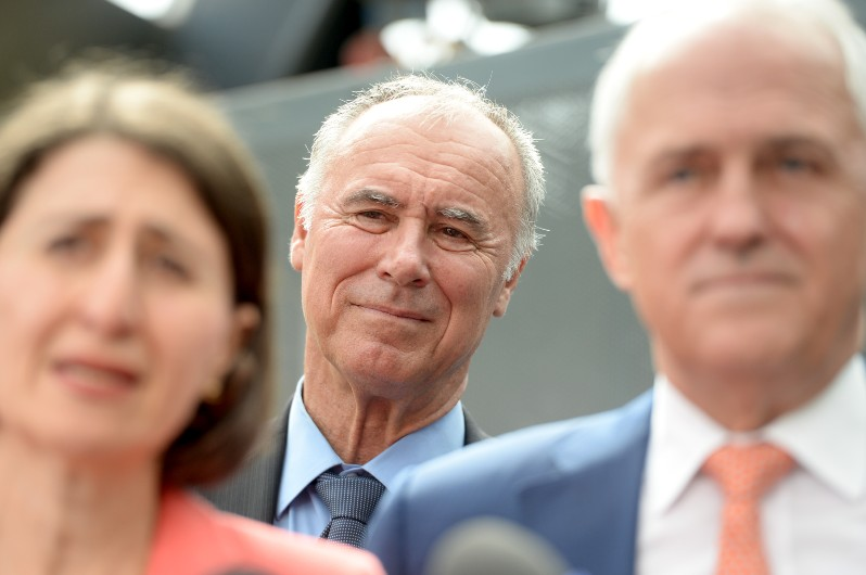 NSW MP John Alexander said he recognised that the government's $110 billion infrastructure for the next 10 years would strain the local construction industry.