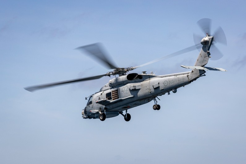 Australia has requested the Lockheed Martin MH-60R Seahawk helicopters and related defence services and equipment.