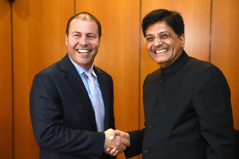 Australia and India interim free trade deal by year's end